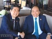 Intensa jornada del premier Nguyen Xuan Phuc en la cumbre ampliada del grupo G7
