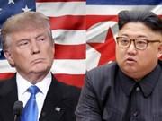 Líder norcoreano pide a Trump entrevistarse en Pyongyang en julio próximo, según prensa de Sudcorea