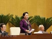 Máxima legisladora de Vietnam llama al pueblo a tener confianza en decisión del Partido y Estado