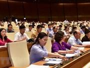 Asamblea Nacional de Vietnam aprueba tres proyectos de leyes