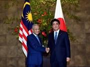 Japón y Malasia se comprometen a cooperar en asuntos relacionados con Corea del Norte