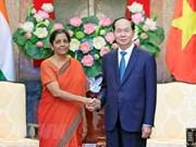 Presidente vietnamita expresa apoyo a lazos de defensa más fuertes con la India