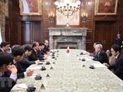 Vicepremier de Vietnam sostiene reuniones con dirigentes de Japón e Indonesia