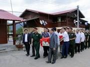 Repatrian restos de combatientes voluntarios vietnamitas caídos en Laos