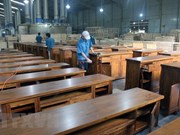 Vaticinan buena perspectiva para exportadores vietnamitas de muebles de madera