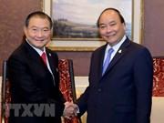 Premier de Vietnam recibe al presidente del grupo tailandés ThaiBev