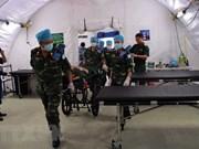 Hospital de campaña de Vietnam listo para misiones en Sudán del Sur
