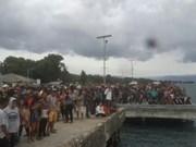 Al menos un fallecido y varios desaparecidos tras hundimiento de barco en Indonesia