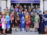 Vicepresidenta Ngoc Thinh manifiesta apoyo a Asociación de Amistad Laos-Vietnam