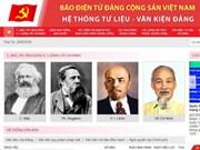 Revista electrónica del Partido Comunista de Vietnam lanza nuevo sitio web