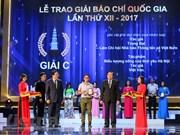 Periódico electrónico de VNA gana Premio Nacional de Prensa 2017