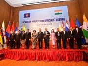 Vietnam copreside reunión del Comité Conjunto ASEAN- la India