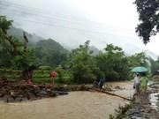 Inundaciones causan pérdidas humanas y materiales a la provincia norvietnamita
