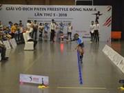 Concluye en provincia norvietnamita Campeonato regional de patines