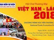 Efectuarán esta semana Feria Comercial Vietnam-Laos 2018