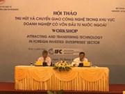 Instan a empresas de IED a intensificar la transferencia de tecnología en Vietnam