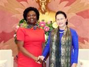 Titular parlamentaria de Vietnam recibe a vicepresidenta del Banco Mundial en Asia-Pacífico