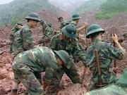 Inundaciones y deslizamientos de tierra dejan a 22 muertos en provincias norteñas de Vietnam