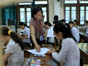 El 99 por ciento de bachilleres de Vietnam se presenta a examen nacional