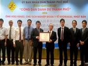 Ciudad centrovietnamita de Hue concede ciudadanía honoraria a un japonés
