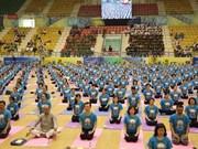 Cuarto Día Internacional de Yoga llega a provincia vietnamita de Gia Lai