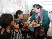 Vicepresidenta del Parlamento vietnamita visita Gia Lai