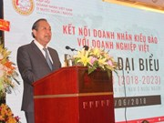 Asociación de Empresarios Vietnamitas en ultramar celebra su tercer congreso