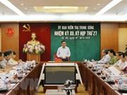 Comisión de Inspección del PCV anuncia resultados de su sesión 27