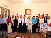 Vietnamitas en Grecia son parte inseparable del su país, afirma vicepremier