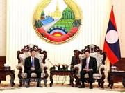 Vietnam reitera disposición de apoyar a Laos en perfeccionamiento del sistema legal
