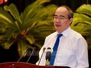 Ciudad Ho Chi Minh busca acelerar ritmo de desarrollo socioeconómico