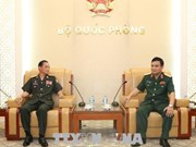 Vietnam dispuesto a enriquecer relaciones con Laos en defensa