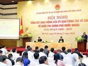 Vietnam busca agilizar cooperación con organizaciones no gubernamentales