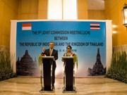 Indonesia y Tailandia por profundizar vínculos bilaterales