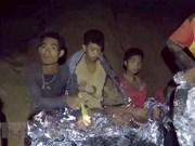 En  estado estable de salud los primeros rescatados en la cueva en Tailandia