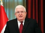 Presidente de Vietnam felicita a su homólogo iraquí por aniversario de medio siglo de nexos bilaterales
