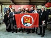 Partido Comunista de Vietnam aspira a fortalecer relaciones con su similar de Italia