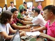 Miles de voluntarios vietnamitas participan en campaña de donación de sangre en Thanh Hoa