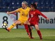 Vietnam eliminado por Australia en semifinal de campeonato regional de fútbol femenino