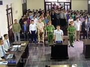 Condenan a prisión a perturbadores del orden social en Vietnam