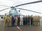 Rusia entrega cuatro helicópteros a Laos reparados por expertos