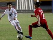 Vietnam gana medalla de bronce en campeonato regional de fútbol femenino