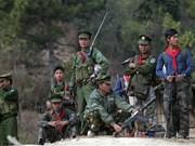 Grupos armados en Myanmar comprometidos con negociaciones de paz