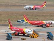 Vietjet Air ofrece servicios aéreos en terminal T1 del aeropuerto Rangún