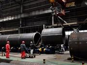 Producción de acero en Vietnam creció siete por ciento en primer semestre de 2018
