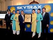 Vietnam Airlines certificada aerolínea con cuatro estrellas por Skytrax
