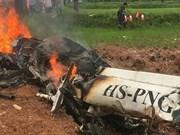 Al menos tres fallecidos en accidente de helicóptero en Tailandia