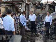 Vietnam continúa apoyando a víctimas connacionales del incendio en Phnom Penh