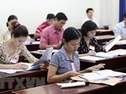 Ministro vietnamita exhorta a acelerar la recalificación del examen final de bachillerato