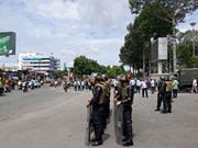 Procesan a 20 sujetos por provocar perturbaciones en provincia vietnamita de Dong Nai